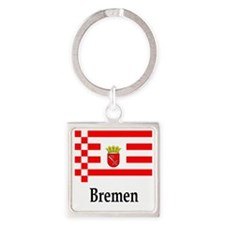 Germany Flag  Square Keychain