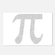 Digits of Pi Postcards (Package of 8)