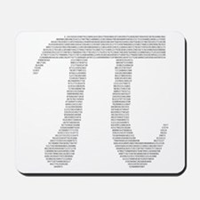 Digits of Pi Mousepad