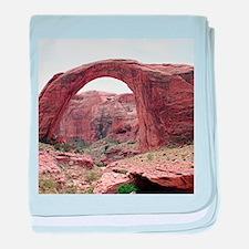 Rainbow Bridge, Utah ,USA 3 baby blanket