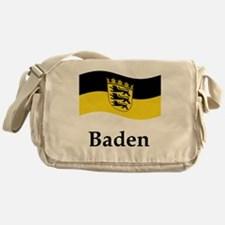 Waving Germany Flag Messenger Bag