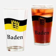 Waving Germany Flag Drinking Glass