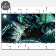 Cute Dragon water Puzzle