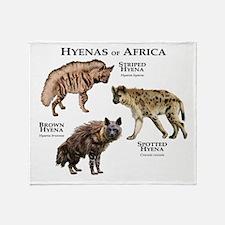 Hyenas of Africa Throw Blanket