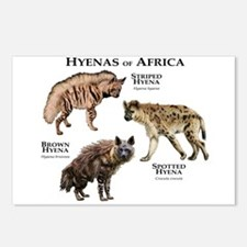 Hyenas of Africa Postcards (Package of 8)