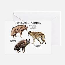 Hyenas of Africa Greeting Card