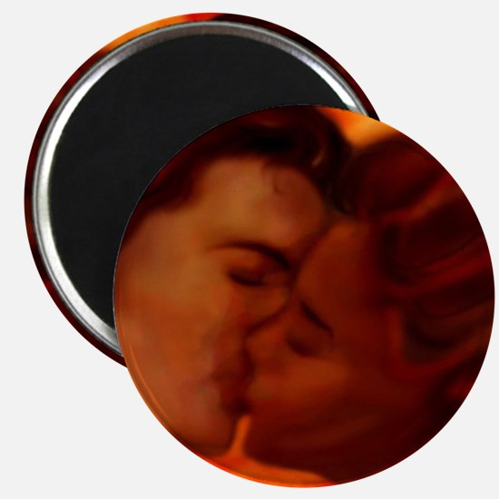 "Hot Kiss 2.25"" Magnet (10 pack)"