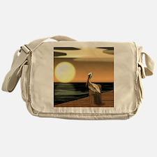 Funny Sage Messenger Bag
