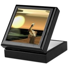 Funny Pelican bay Keepsake Box