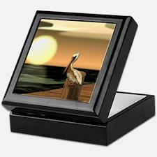 Unique Pelican Keepsake Box