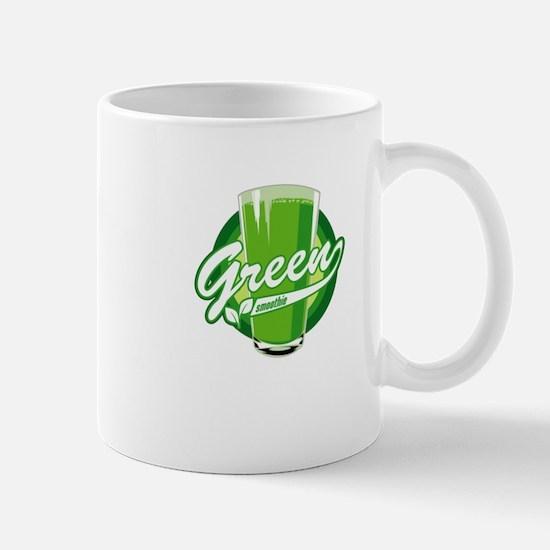 Green Smoothie logo Mugs