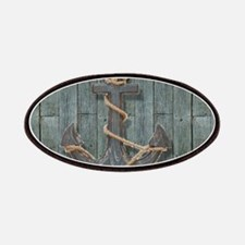 teal drift wood anchor Patch