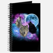 Wolves Mystical Night Journal
