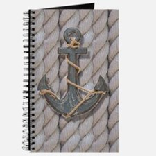 rustic anchor nautical rope Journal