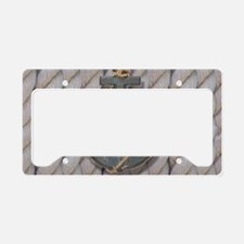 rustic anchor nautical rope License Plate Holder