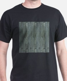 nautical teal beach drift wood T-Shirt