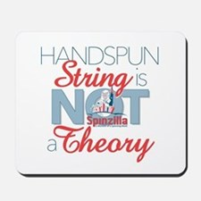 Handspun String Is Not A Theory Mousepad