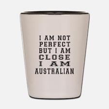 Australian or Ozzie or Aussie Designs Shot Glass