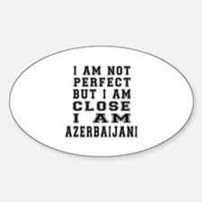 Azerbaijani Designs Sticker (Oval)
