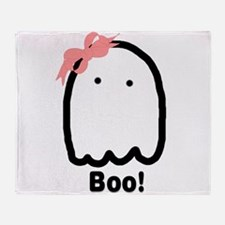Boo! 2-Sided Throw Blanket
