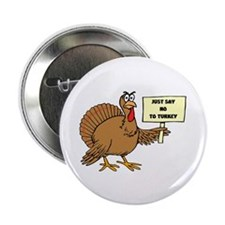 "Unique Happy thanksgiving 2.25"" Button (10 pack)"