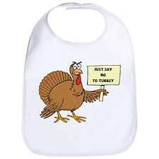 Cute Turkey day Bib
