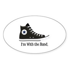 With The Band Decal