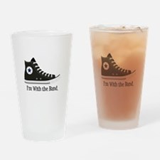 With The Band Drinking Glass