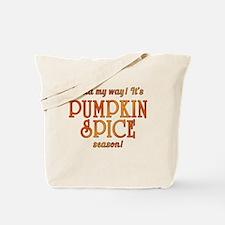 Pumpkin Spice Season Tote Bag