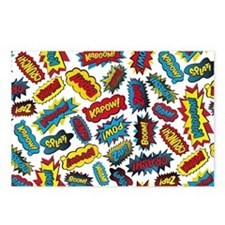 Super Words! Postcards (Package of 8)