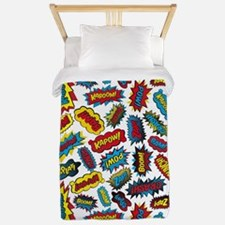 Super Words! Twin Duvet