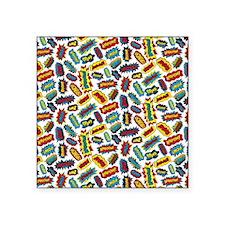 """Super Words! Square Sticker 3"""" x 3"""""""
