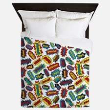 Super Words! Queen Duvet