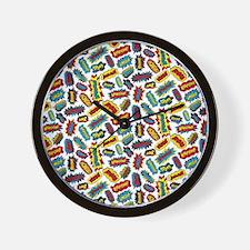 Super Words! Wall Clock