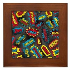 Super Words! Framed Tile