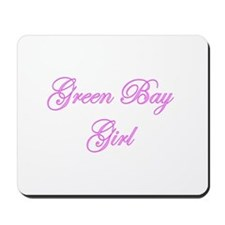 Green Bay Girl Mousepad