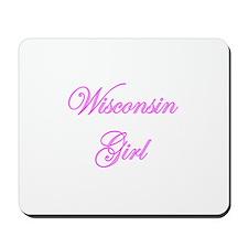 Wisconsin Girl Mousepad