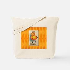 TLK007 Halloween Pumpkin Man Tote Bag
