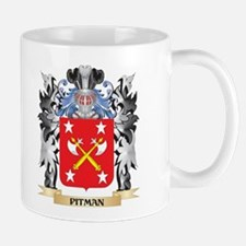 Pitman Coat of Arms - Family Crest Mugs