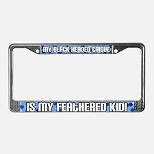 Black Headed Caique Fid License Plate Frame