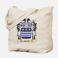 Pitts Coat of Arms - Family Crest Tote Bag