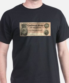 Confederate $500 Bill T-Shirt