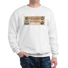 Confederate $500 Bill Sweatshirt