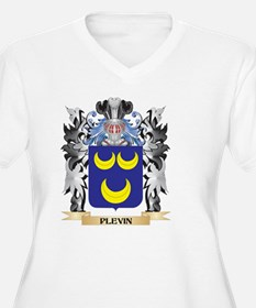Plevin Coat of Arms - Family Cre Plus Size T-Shirt
