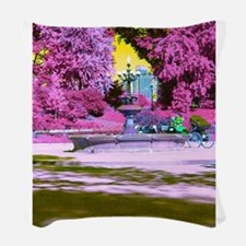 THE PINK PARK Woven Throw Pillow