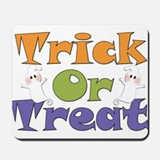Trick or Treat Ghosts Mousepad
