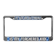 B&G Macaw Feathered Kid License Plate Frame