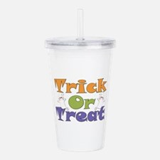 Trick or Treat Ghosts Acrylic Double-wall Tumbler