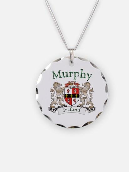 Murphy Irish Coat of Arms Necklace