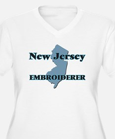 New Jersey Embroiderer Plus Size T-Shirt
